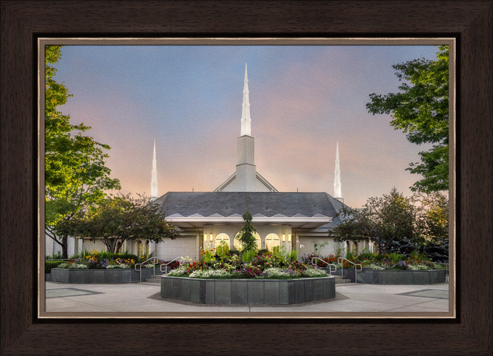 Boise Temple - A House of Peace by Robert A Boyd
