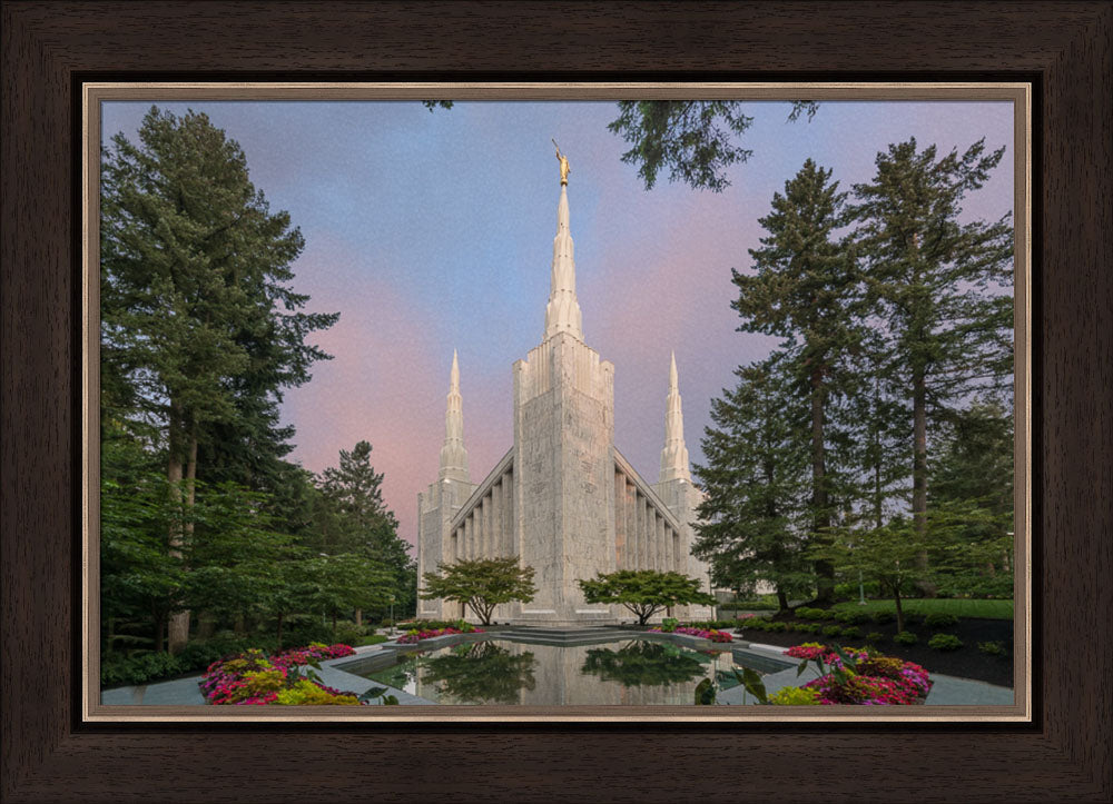 Portland Temple - A House of Peace by Robert A Boyd