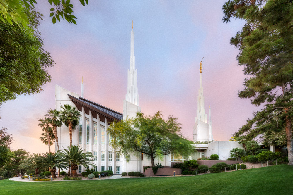 Las Vegas Temple - A House of Peace by Robert A Boyd
