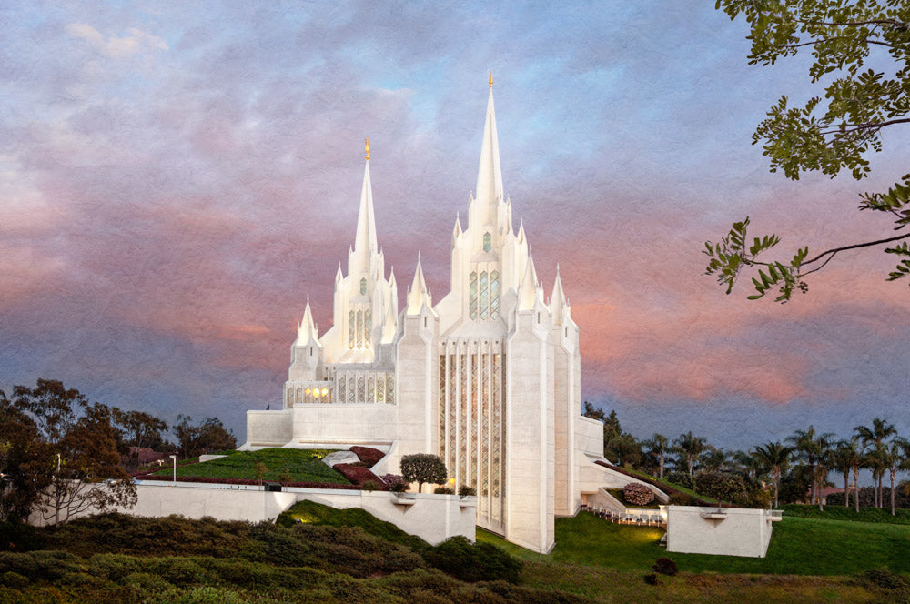 San Diego Temple - Holy Places Series by Robert A Boyd