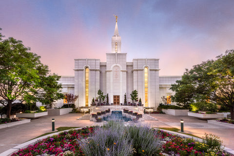 Bountiful Temple - A House of Peace by Robert A Boyd