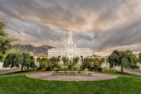 Mt Timpanogos Temple - Chome by Robert A Boyd