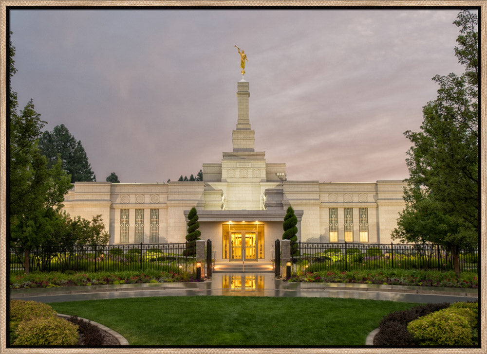 Spokane Temple - Covenant Path Series by Robert A Boyd