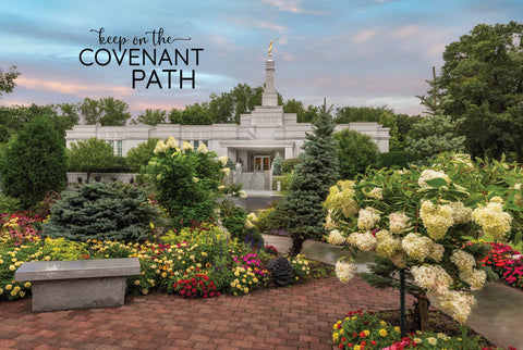 St. Paul Temple - Covenant Path 12x18  repositionable poster