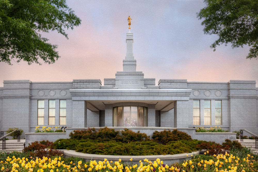 Reno Temple- A House of Peace by Robert A Boyd