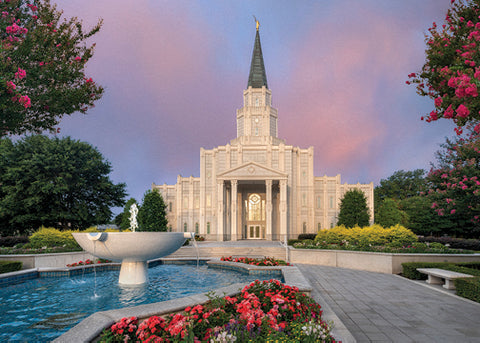 Houston Temple - House of Peace 5x7 print