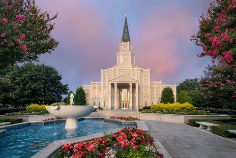 Houston Temple - A House of Peace by Robert A Boyd