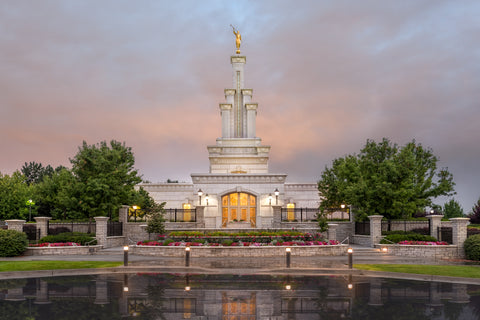 Columbia River Washington Temple- Covenant Path by Robert A Boyd