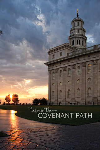 Nauvoo Temple - Path 12x18 repositionable poster