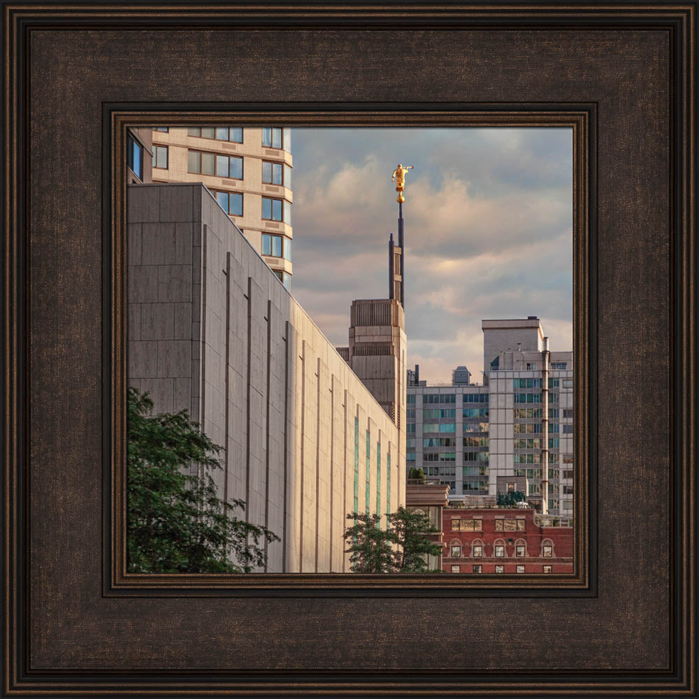 Manhattan Temple - Spire in the City by Robert A Boyd