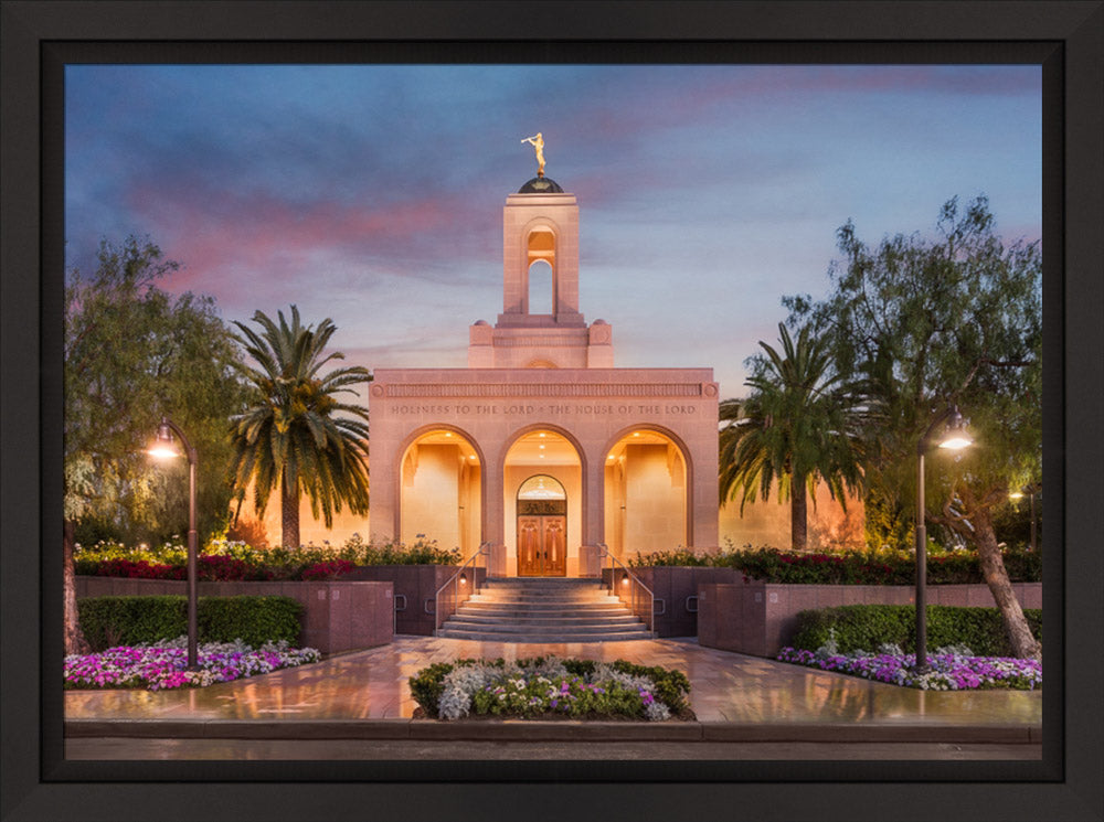 Newport Beach Temple - Covenant Path Series by Robert A Boyd