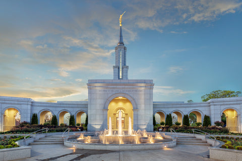 Sacramento Temple - Tranquility by Robert A Boyd