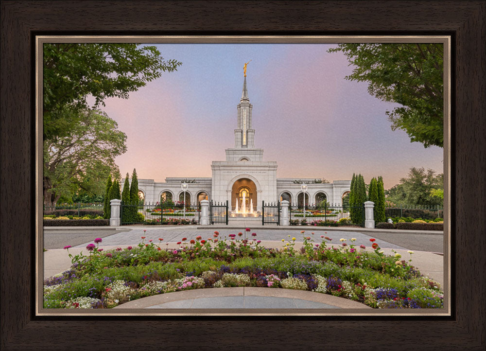 Sacramento Temple - A House of Peace by Robert A Boyd