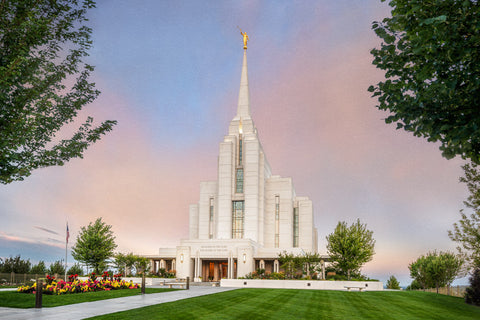 Rexburg Temple - A House of Peace by Robert A Boyd