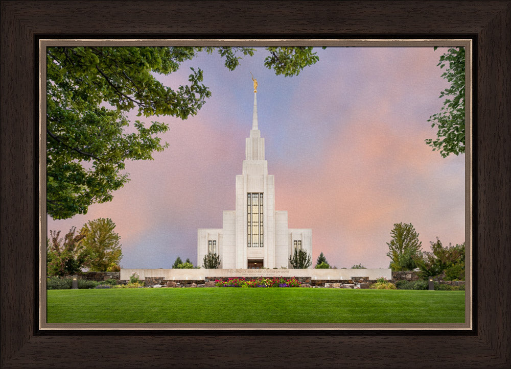Twin Falls Temple - A House of Peace by Robert A Boyd