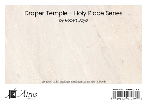 Draper Temple - Holy Place Series 5x7 print