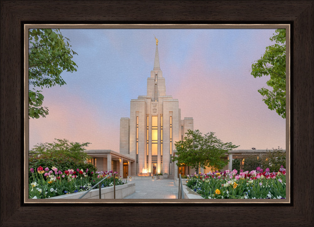 Oquirrh Mountain Temple - A House of Peace by Robert A Boyd