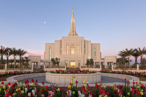Gilbert Temple - Flower Moon by Robert A Boyd