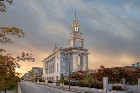 Philadephia Temple - Avenue by Robert A Boyd