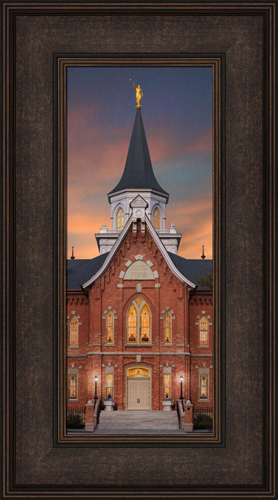Provo City Center Temple - A Fire Within by Robert A Boyd