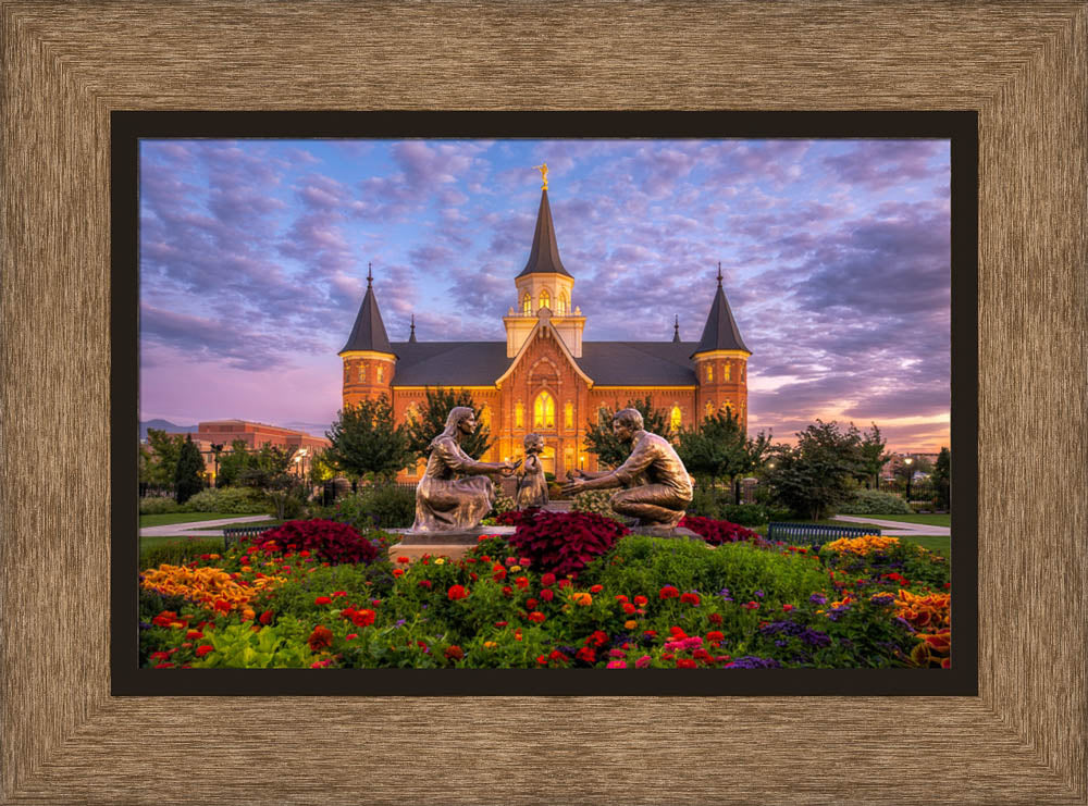Provo City Center Temple - Eternity by Robert A Boyd