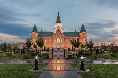 Provo City Center Temple- Covenant Path Series by Robert A Boyd