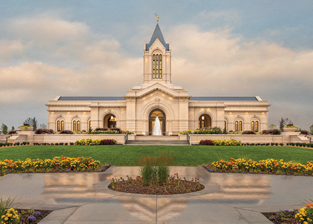 Fort Collins Temple - Eventide 5x7 print