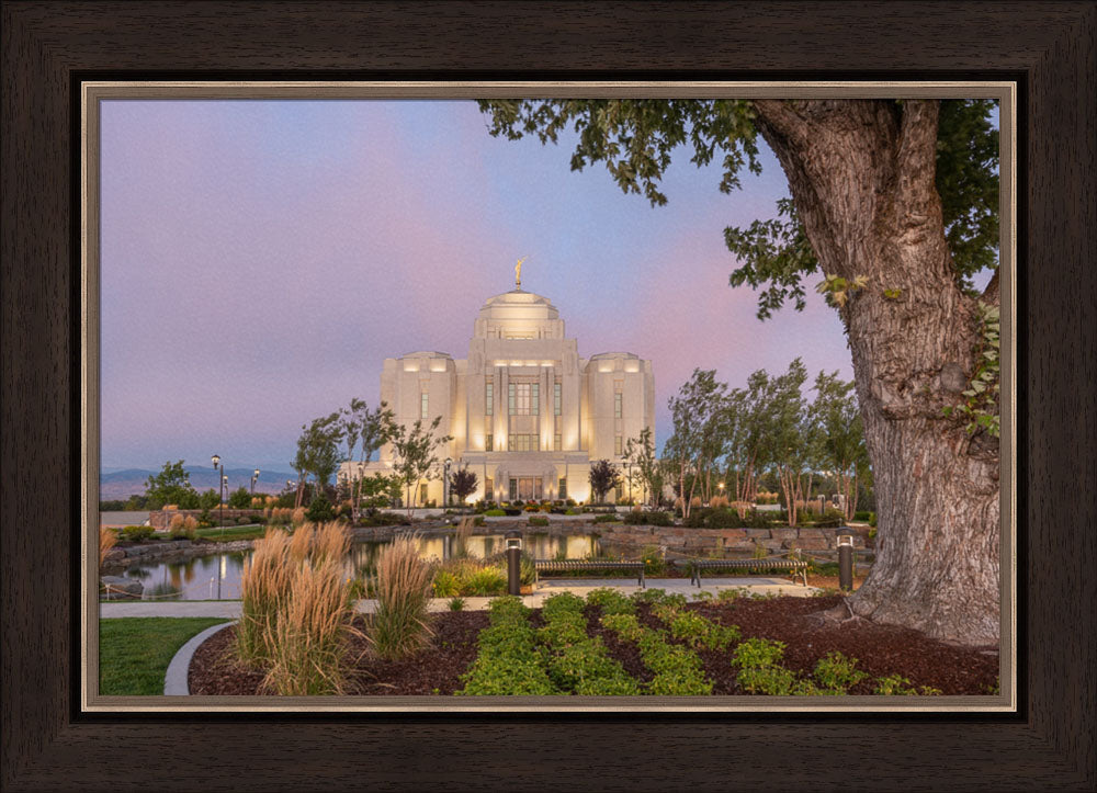 Meridian Temple - A House of Peace by Robert A Boyd