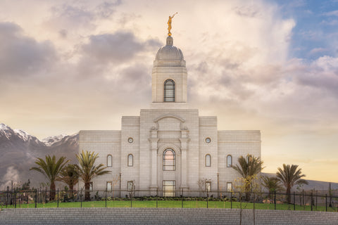 Arequipa Peru Temple - Everlasting by Robert A Boyd