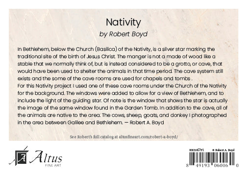 Nativity by Robert A Boyd