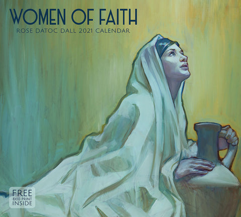 2021 Rose Datoc Dall Calendar - Women of Faith
