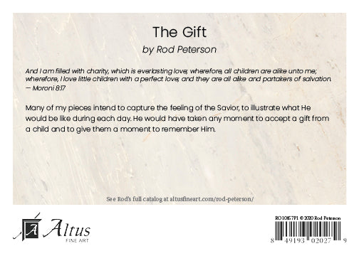 The Gift by Rod Peterson