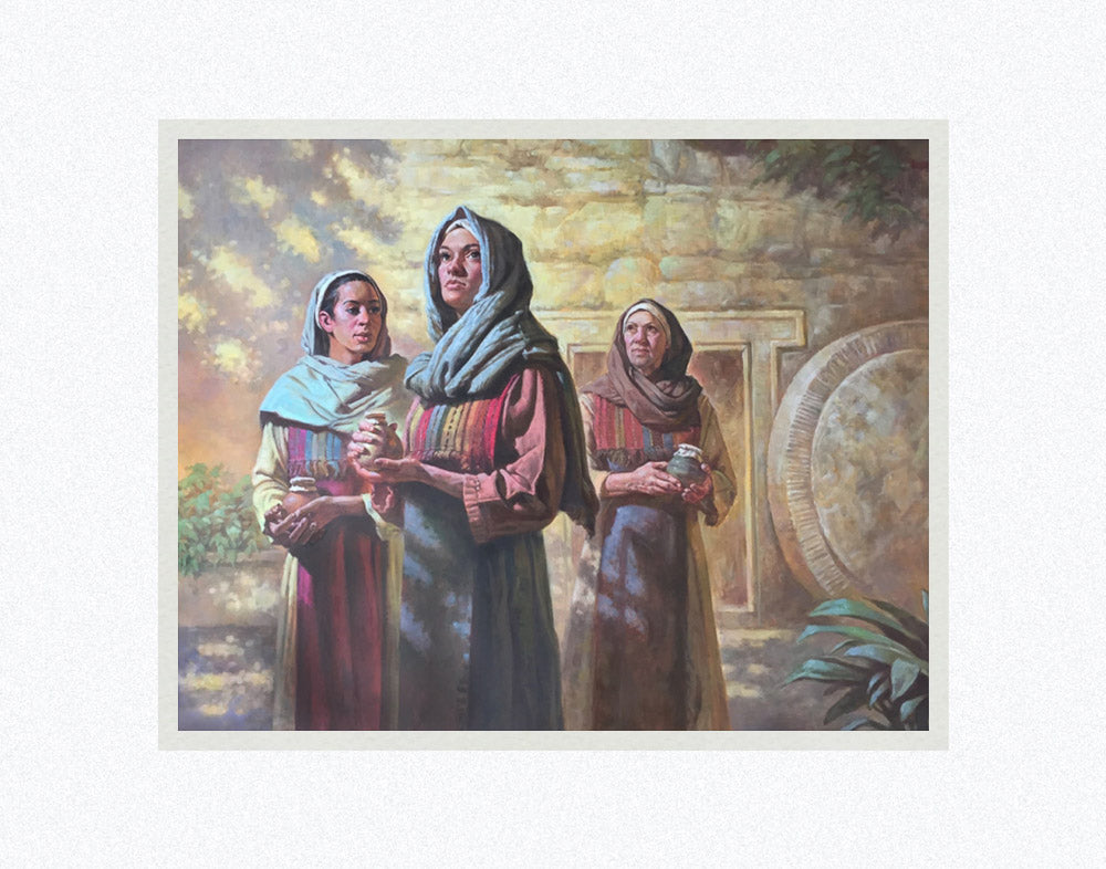 Three Women at the Tomb by Robert Barrett