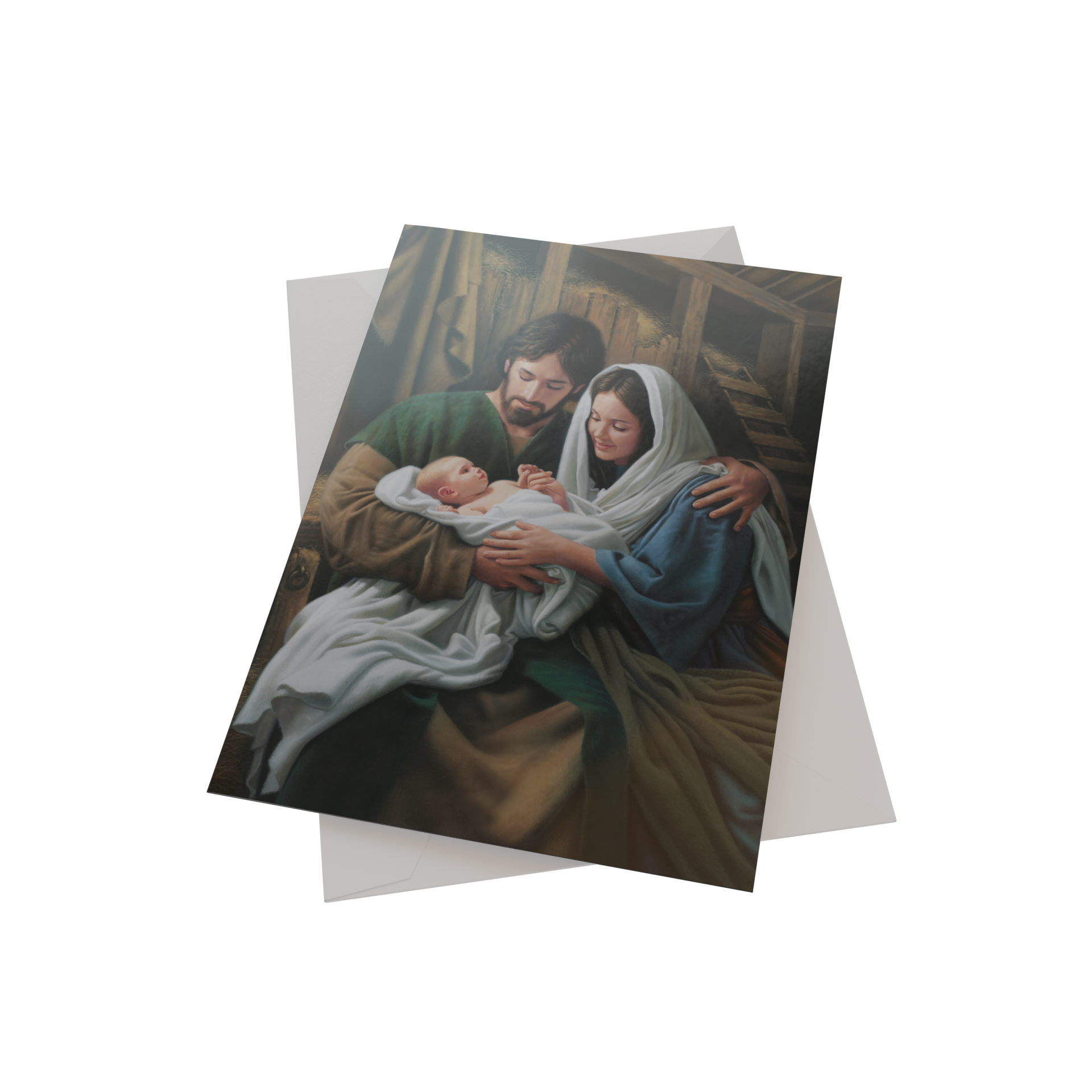Simon Dewey Boxed Christmas Cards Featuring Mary and Baby Jesus  (20 Each of 1 Design)