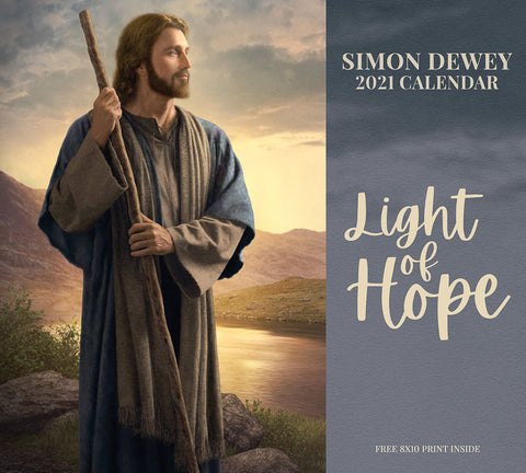 2021 Simon Dewey Calendar - Light of Hope