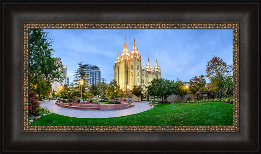Salt Lake Temple - Summer Evening by Scott Jarvie