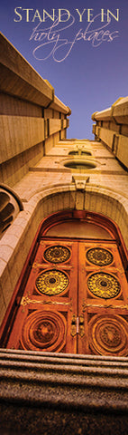 Salt Lake Temple (Stand Ye In Holy Places) bookmark