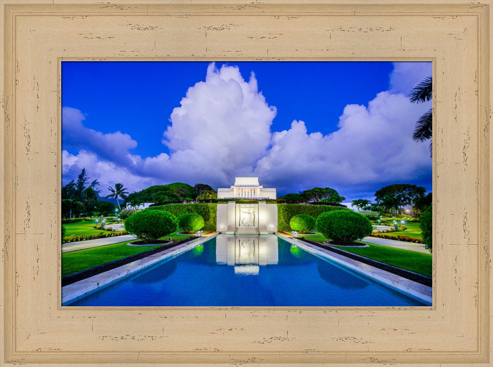 Laie Temple - Reflection by Scott Jarvie