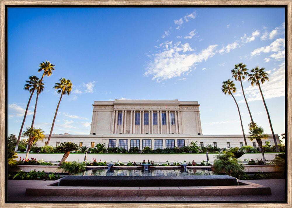 Mesa Temple - Garden Fountain by Scott Jarvie