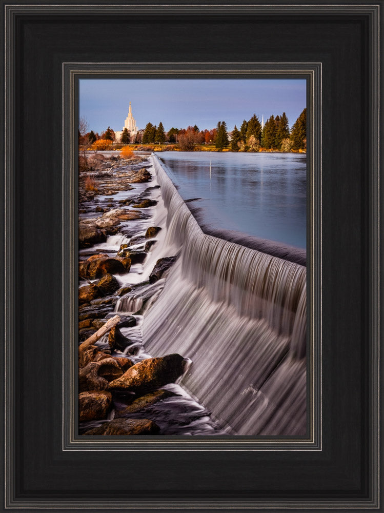 Idaho Falls Temple - Leading to the Temple by Scott Jarvie