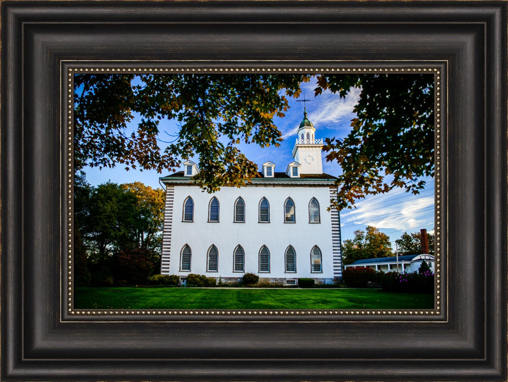 Kirtland Temple - From the Side by Scott Jarvie