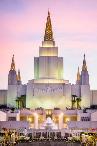 Oakland Temple - Christmas Lights by Scott Jarvie