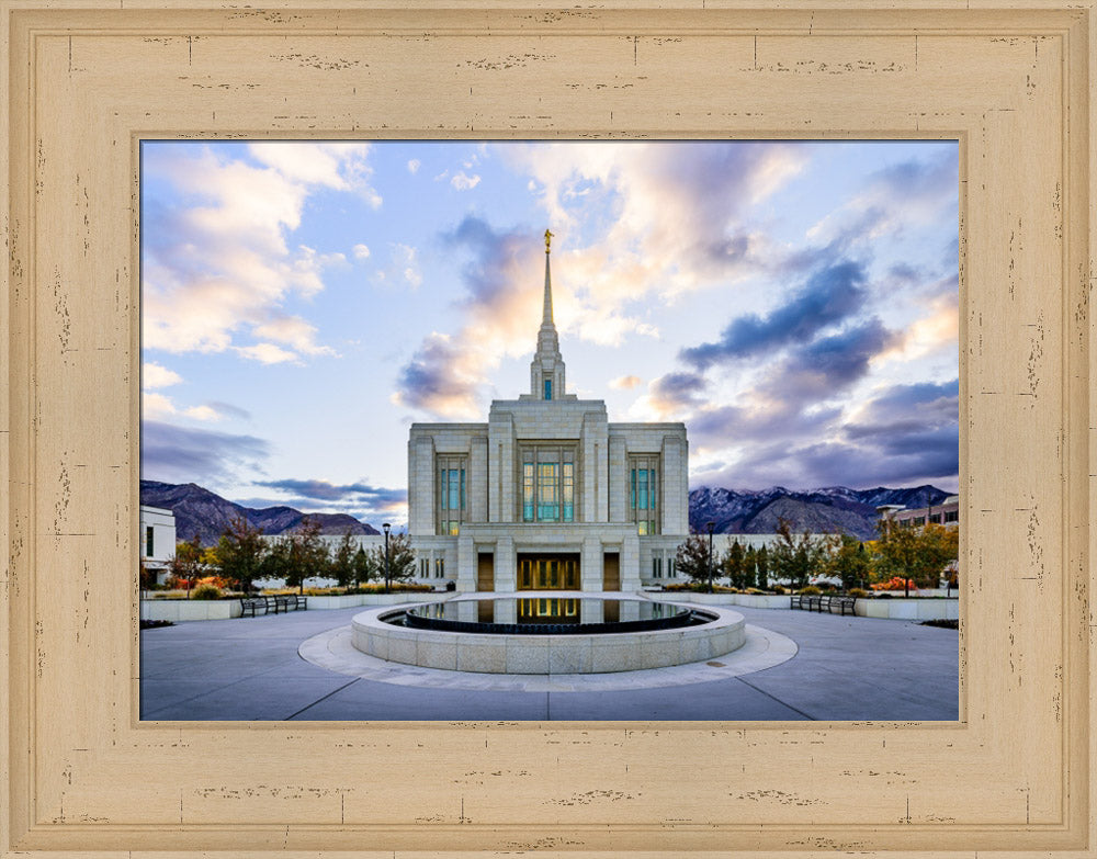 Ogden Temple - Morning Light by Scott Jarvie