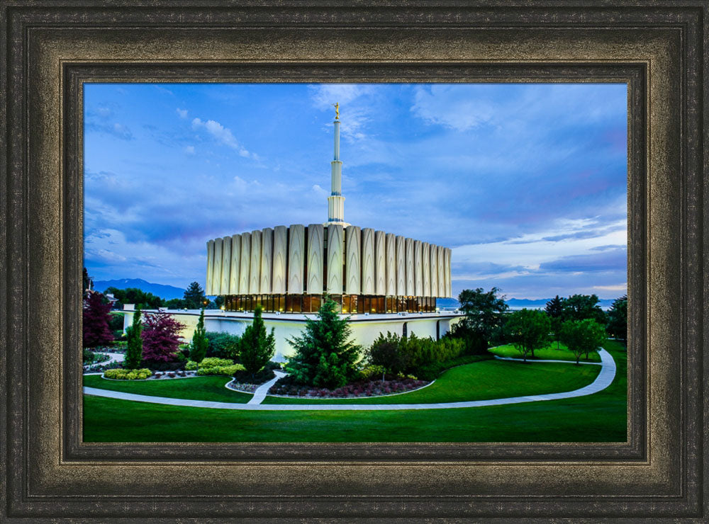 Provo Temple - From the Corner by Scott Jarvie