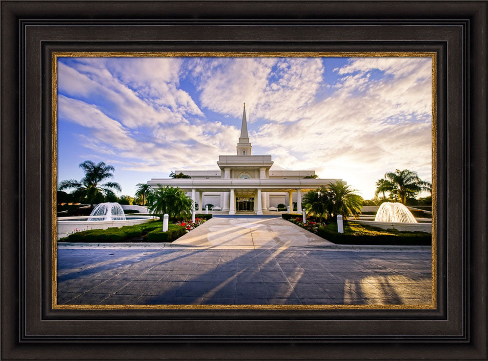 Orlando Temple - Fountains by Scott Jarvie