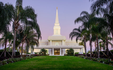Orlando Temple - Twlight Skies by Scott Jarvie
