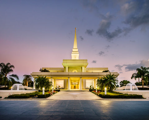 Orlando Temple - At Dusk by Scott Jarvie