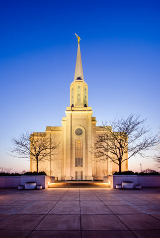 St Louis Temple - Front by Scott Jarvie