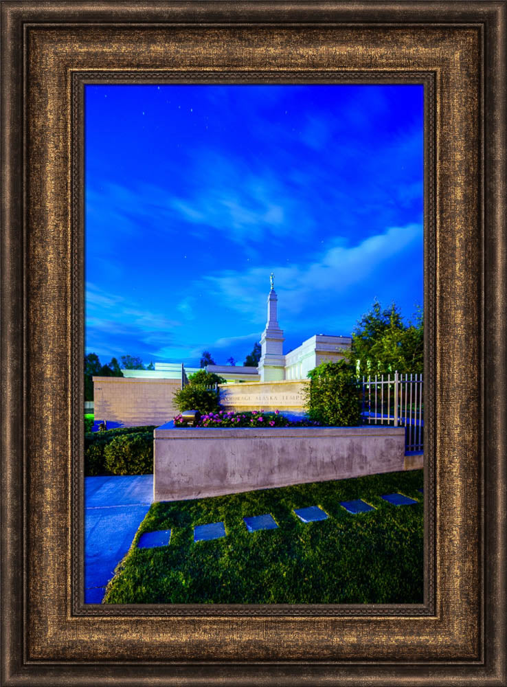 Anchorage Temple - Stepping Stones by Scott Jarvie