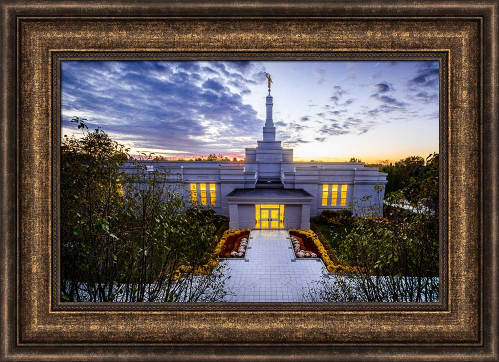 Palmyra Temple - Entrance from High by Scott Jarvie